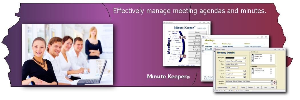 Meeting Management Software