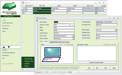 Asset Management Software - Custom Database